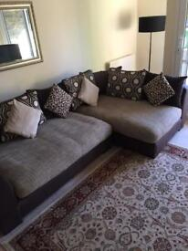 DFS Sinan (Latte) Large L Shape Sofa