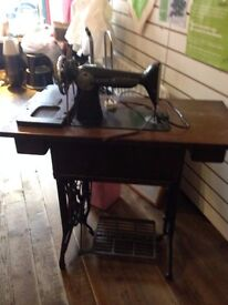 Antique Lister and Brother Sewing machines
