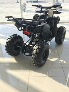 FREE SHIPPING New Venom 125cc Teen/Adult Gas ATV 4 stroke with Reverse - Big tires, Metal Racks, Remote Kill Switch
