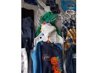 baby boy clothes bundle 9-12 and 12-18 months