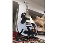 Epiphone Les Paul Standard and practice amp