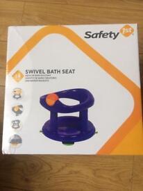 Brand New Safety 1st Swivel Bath Seat