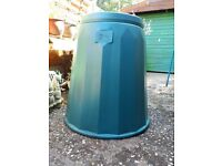 COMPOST BIN - GREEN - EXCELLENT CONDITION - £8.00 OR NEAR OFFER
