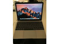 "MacBook 12"" Early 2016 - Space Grey - 1.2Ghz Intel Core m5 - 8GB RAM"