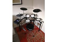 Yamaha DTX700 Electornic Drum Kit with Stool