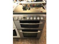 Indesit stainless steel electric cooker!