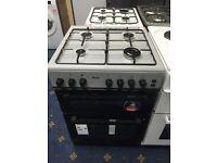 New Ex-Display Teknix 60cm Gas Cooker Silver £250 2 Year Guarantee