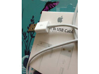 Job Lot 50x Genuine Apple USB Charging Data Cable For iPhone 4 4S