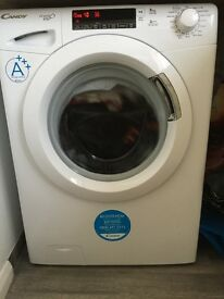 White Candy 8kg 1600 spin washing machine. Excellent condition