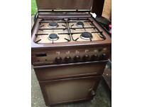 Freestanding Gas oven, grill and job