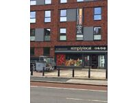 A1 Retail space to let near town centre on kings road. Very prominent location with parking