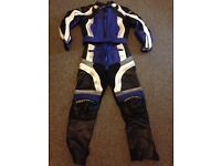 Motorbike leathers , Ladies 2 piece . Armasport Xtreme Tour