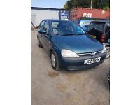 2004 VAUXHALL CORSA 1.2 PETROL BREAKING FOR PARTS