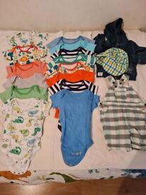 Baby boy clothes 9-12 mounts