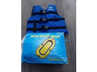 Children Sea King Boat and Life Jacket