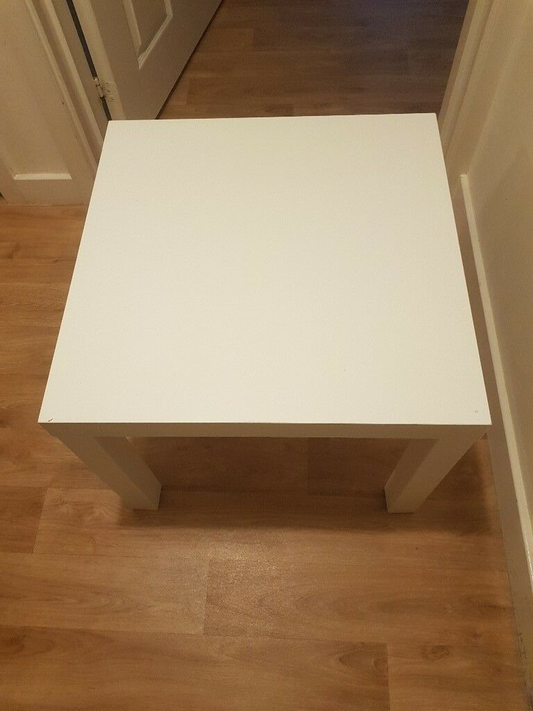 Ikea Lack Coffee Table White Living