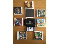 New Nintendo 3ds Bundle with 7 games, case and covers