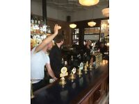 Bar staff and floor staff needed for busy gastro pub