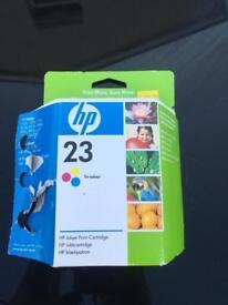 HP Inkjet Tri-Colour Print Cartlidge