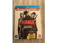 DJANGO Unchained Bluray DVD