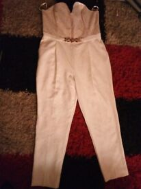 Beautiful jumpsuit by river island size 16 worn twice great condition