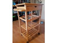 Kitchen Caddy with Wine Rack