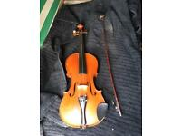 French 3/4 size violin mirecourt