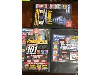 3 x pc format pc DVD from 2000