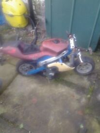 Monkey bike for spares or repair