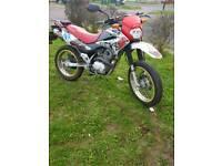 XR 125CC HONDA 12 MONTHS MOT £1200