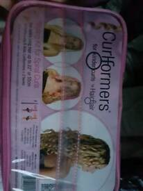 Curl formers / curlers /hair