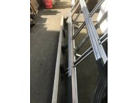 Roof rack and glass carrier