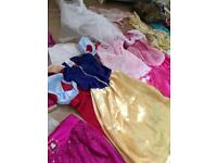 Girls dressing up outfits Disney