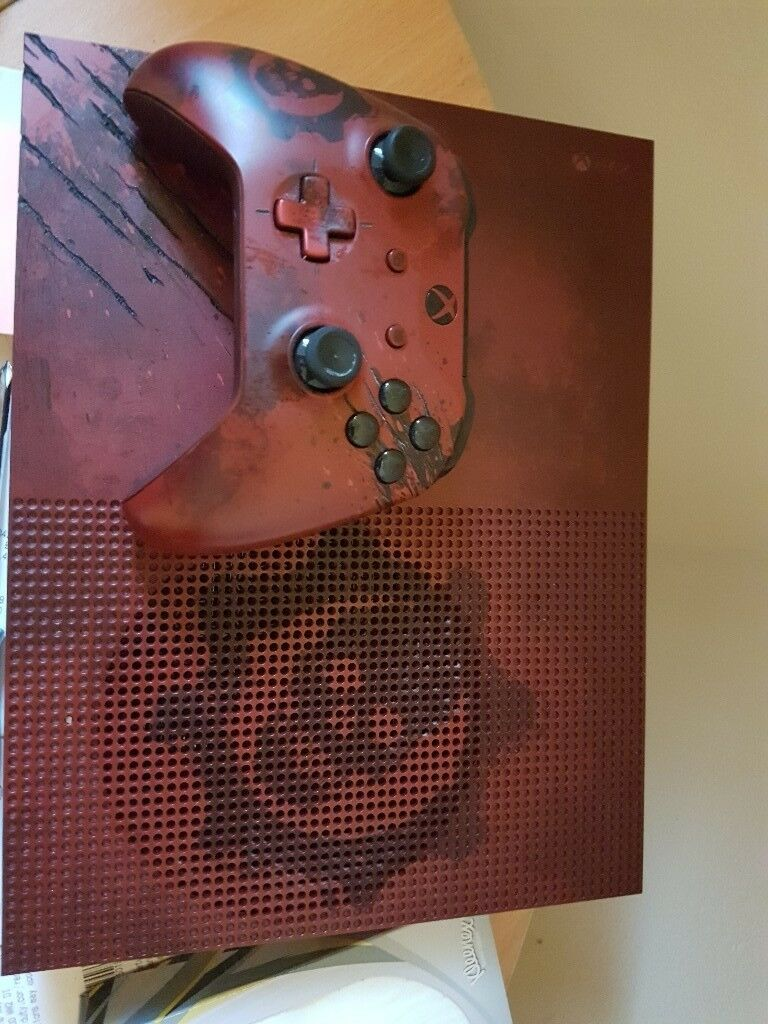 Gears Of War Xbox One Console For Sale