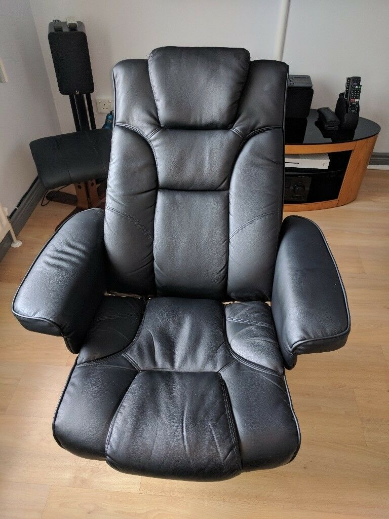 Comfy Chair Julian Bowen Malmo Pu Leather Massage Recliner