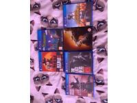 PS4 games!
