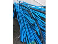 Various lengths of water pipe from 1m to 3m