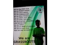 U/9 wanted for local football team..