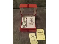 **NEW IN BOX***Limit watch and necklace set with inscription 'Special Mum' (RRP £25)