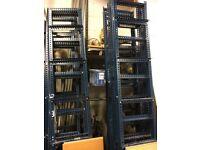 Storage racking ideal for garage or back of shop shop