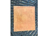 Italian porcelain terracotta effect 30x30cm floor tiles x 52