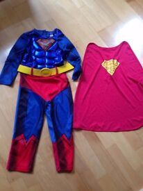 Superman Costume aged 5 - 6