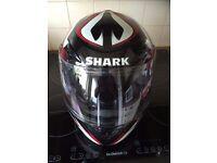 Shark Crash helmet size L
