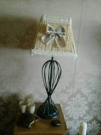 Hand made lamp