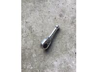 Snap on old style 3/8 stubby ratchet rare