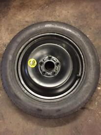 FORD FOCUS SPACE SAVER (SPARE WHEEL)