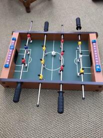 Table top football table SOLD