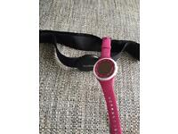 Suunto heart rate monitor and watch