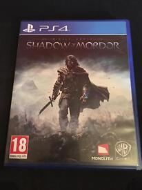 Middle Earth: Shadow of Mordor (PlayStation 4)