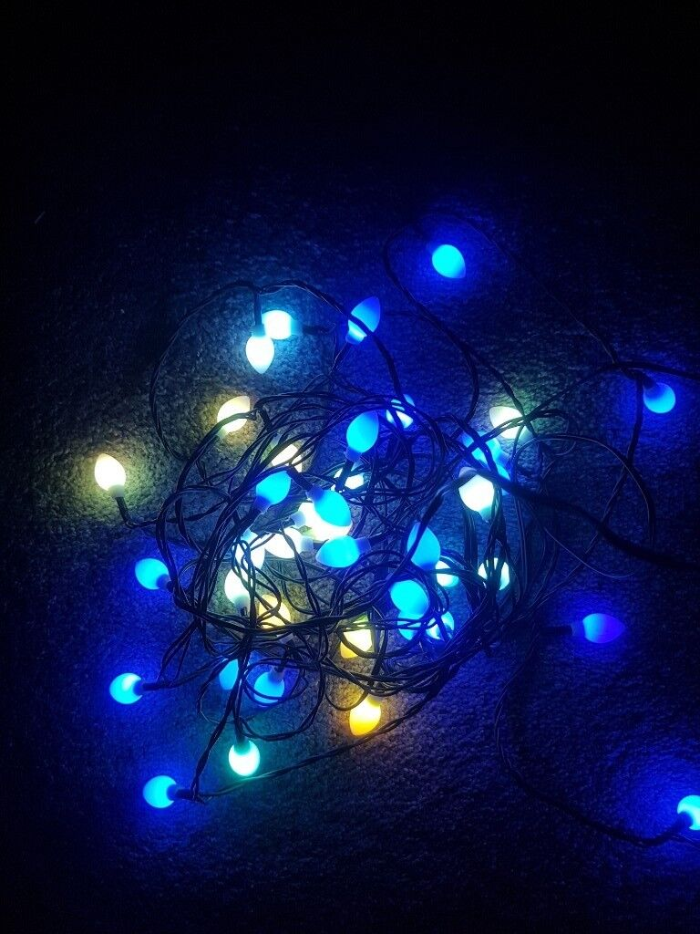 John Lewis Morphing Christmas Lights | in Maryhill ...